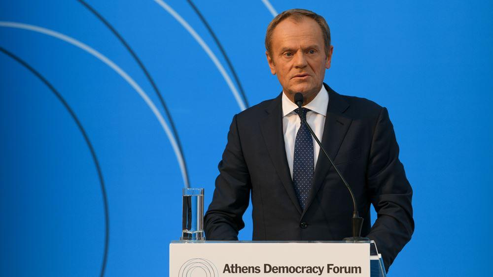 Ντ. Τουσκ: Μια συμφωνία είναι πάντα καλύτερη από μια μη συμφωνία