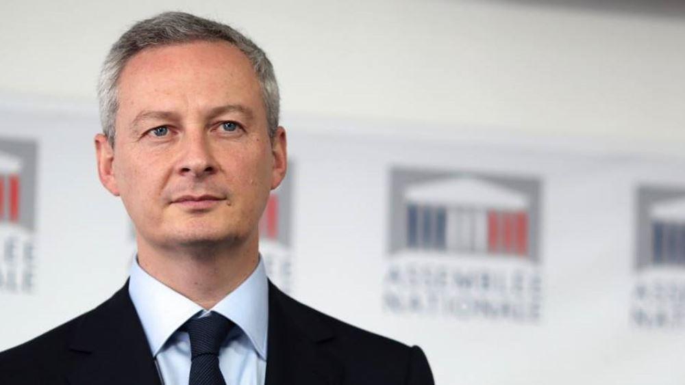 Κατά 15% θα μειωθεί η οικονομική δραστηριότητα λόγω της καραντίνας, εκτιμά ο Γάλλος ΥΠΟΙΚ