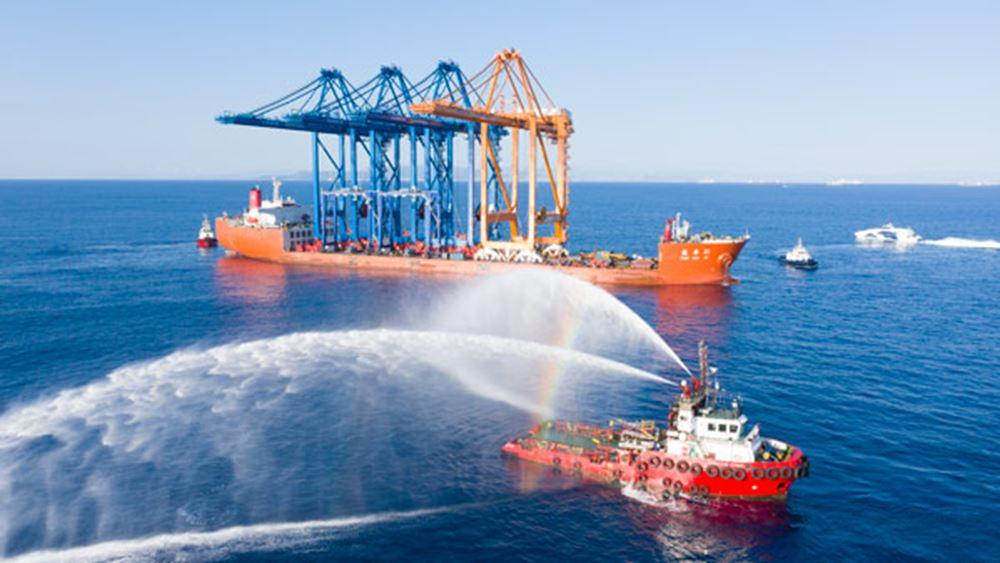 Πειραιάς: To μεγαλύτερο εμπορευματικό hub στη Μεσόγειο