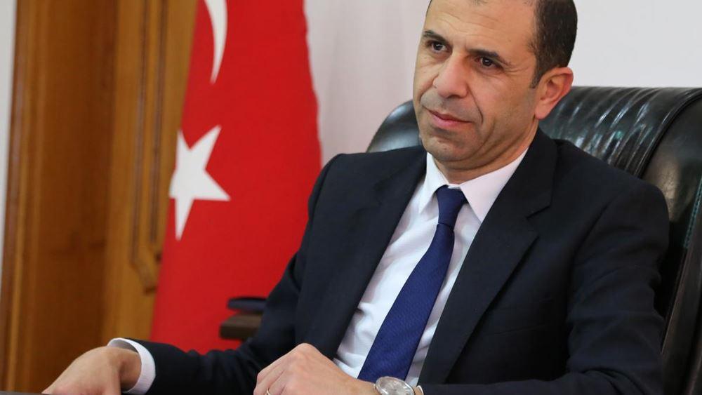 """Τουρκοκύπριος """"υπουργός"""": Οι υδρογονάνθρακες ανοίκουν και στους Ελληνοκύπριους και σε εμάς"""