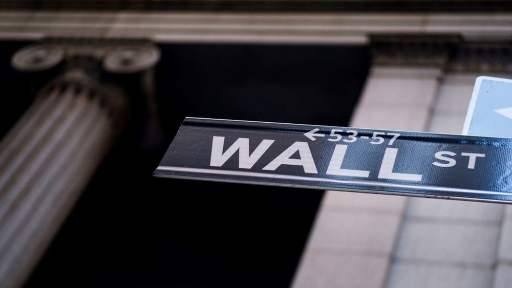 """""""Άλμα"""" 100 μονάδων για τον Dow Jones με ώθηση από τα κέρδη της Goldman Sachs"""