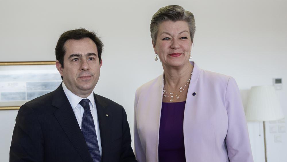Στην Ελλάδα στις 28-30 Μαρτίου η Επίτροπος Εσωτερικών Υποθέσεων της ΕΕ
