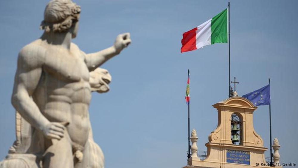 """""""Ραντεβού στα τυφλά"""" η νέα ιταλική κυβέρνηση"""