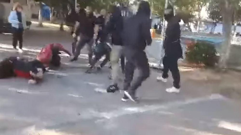 Νέο Ηράκλειο: Επίθεση ακροδεξιών σε εκδήλωση καταδίκης της Χρυσής Αυγής