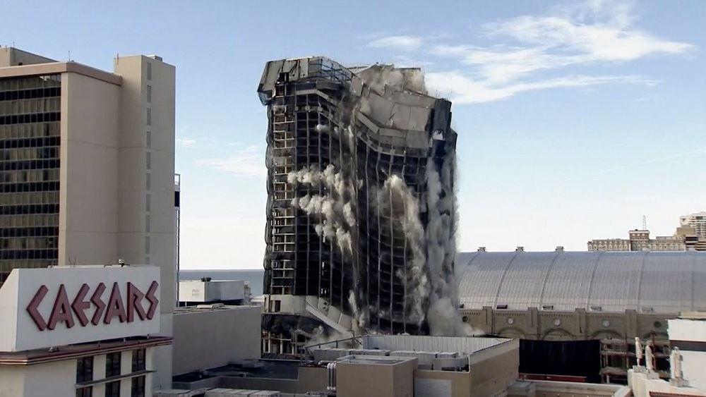 Trump Plaza εκρηξη 17.02.2021