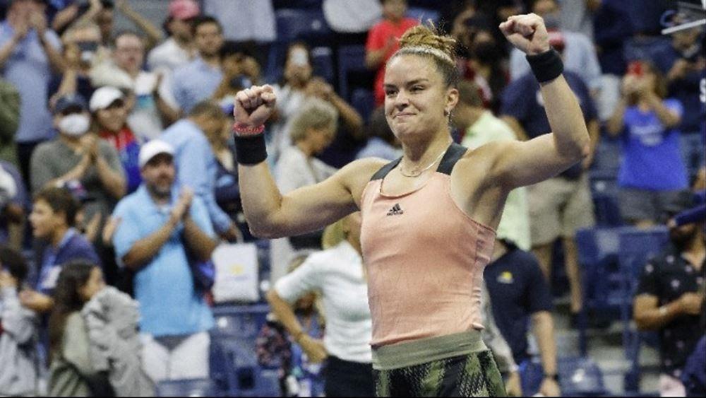 Μαρία Σάκκαρη: Ιστορική πρόκριση στα προημιτελικά του US Open