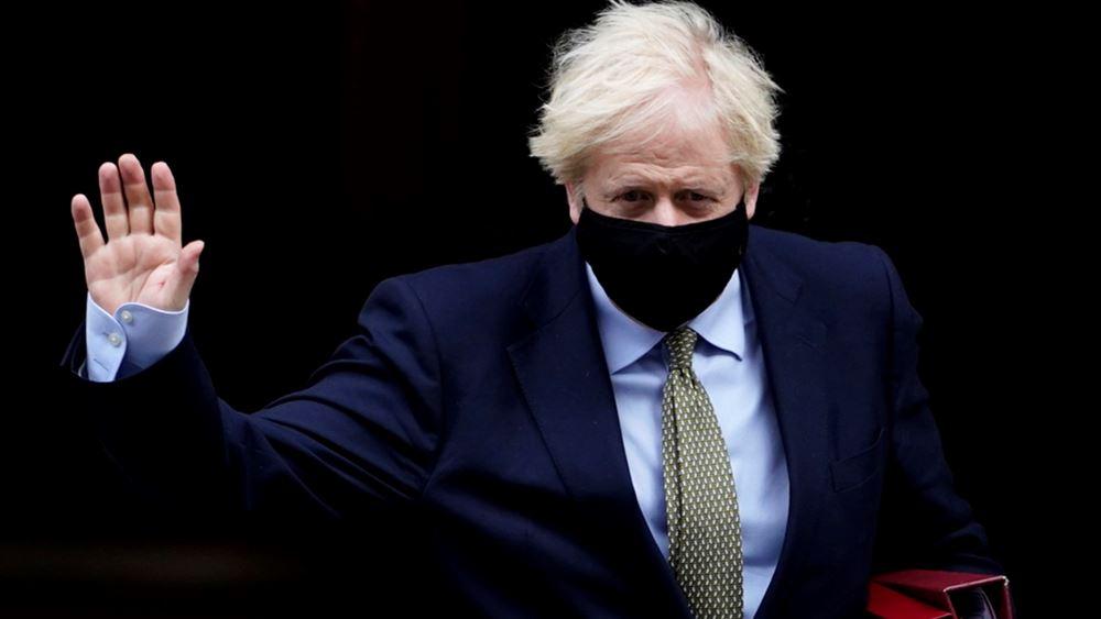 Τα συγχαρητήριά του εκφράζει ο Βρετανός πρωθυπουργός στον Τζο Μπάιντεν για τη νίκη του στις προεδρικές