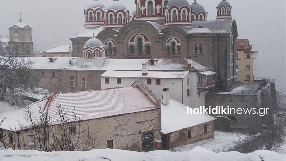 Αίτημα να κηρυχθεί το Άγιο Όρος σε κατάσταση έκτακτης ανάγκης λόγω καταστροφών από την κακοκαιρία