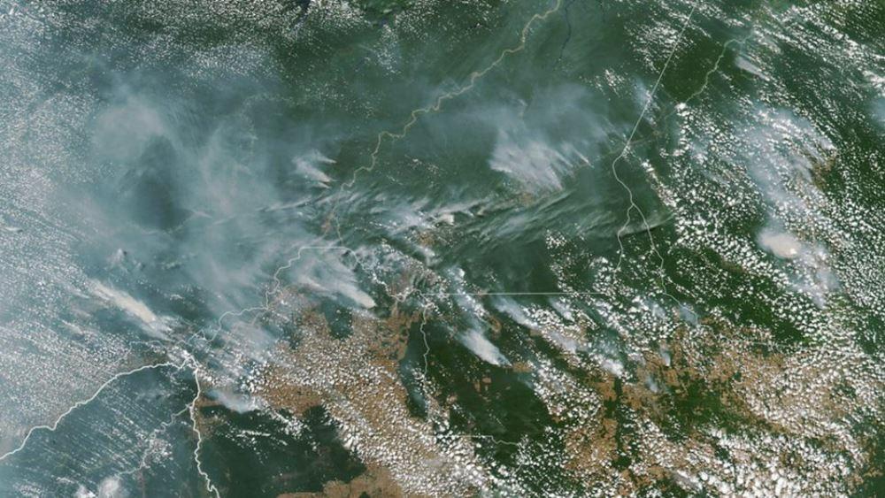 Βραζιλία: Ο πρόεδρος Μπολσονάρου κατηγόρησε τις ΜΚΟ για τις φωτιές στον Αμαζόνιο