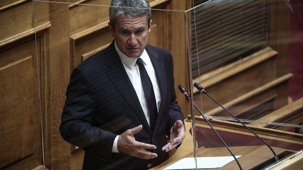 Λοβέρδος: Όχι στη Βουλή αλλά μέσω τηλεδιάσκεψης οι τοποθετήσεις ανεμβολίαστων βουλευτών