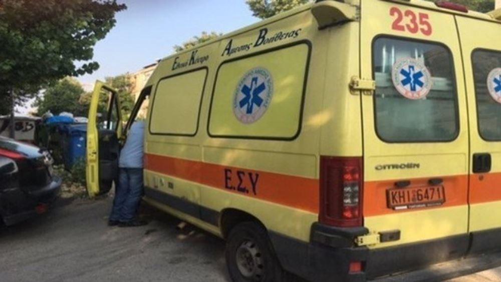 Τροχαίο ατύχημα με τρεις τραυματίες στη λεωφόρο Αθηνών
