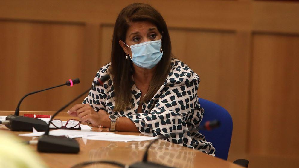 Παπαευαγγέλου: Οι προδιαγραφές της κατάλληλης μάσκας για παιδιά και η σωστή χρήση της