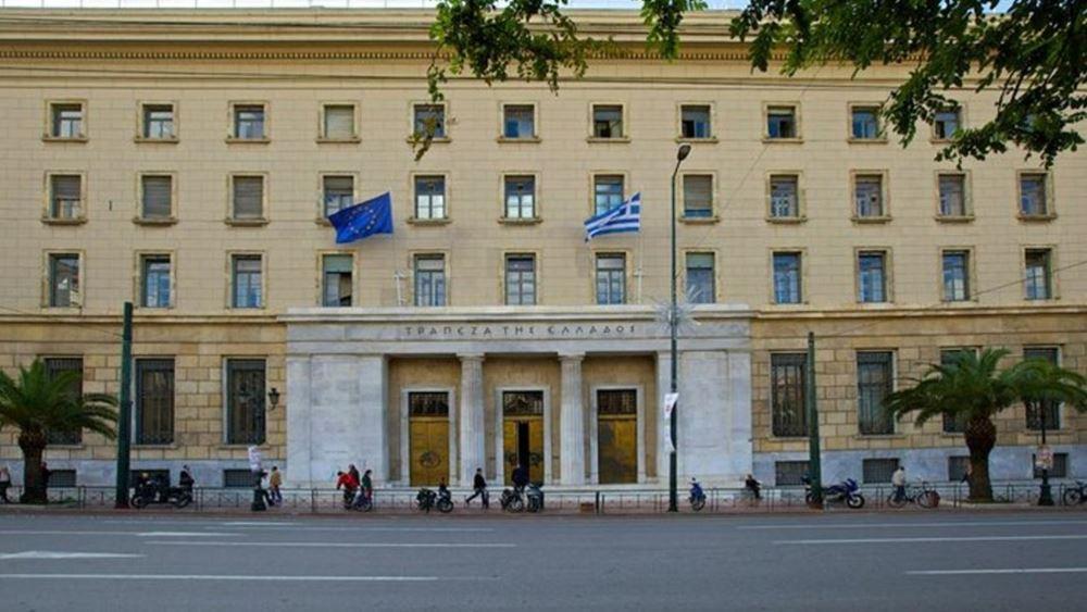 ΤτΕ: Μείωση παρουσίασαν τον Οκτώβριο τα επιτόκια νέων καταθέσεων και δανείων