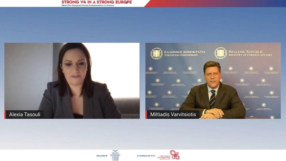 Βαρβιτσιώτης: Αν η Τουρκία θέλει καλύτερες σχέσεις με την ΕΕ, να εναρμονιστεί με Διεθνές Δίκαιο