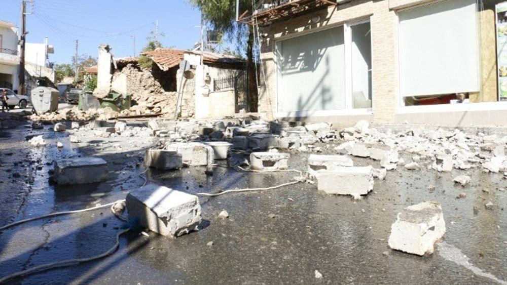 ΥΠΟΙΚ: Ξεκίνησαν οι αποζημιώσεις στους σεισμόπληκτους της Κρήτης
