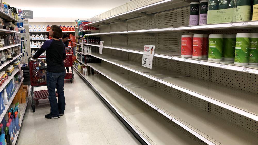 Επιδρομή σε σούπερ μάρκετ, καταστήματα ηλεκτρικών και φαρμακεία