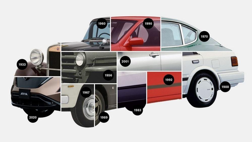 Η διαχρονική εξέλιξη του λογότυπου της Nissan