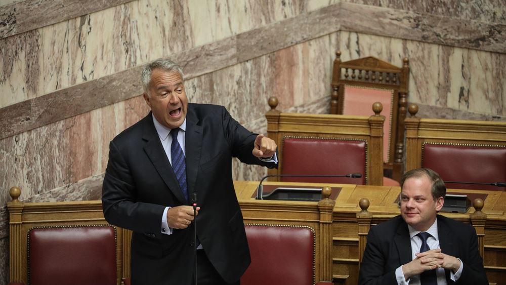 Βορίδης: Κομματική εγκάθετη του Τσίπρα, η Βασιλική Θάνου