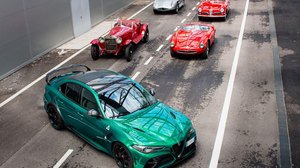 Alfa Romeo: Έτοιμη για τα 1000 Miglia