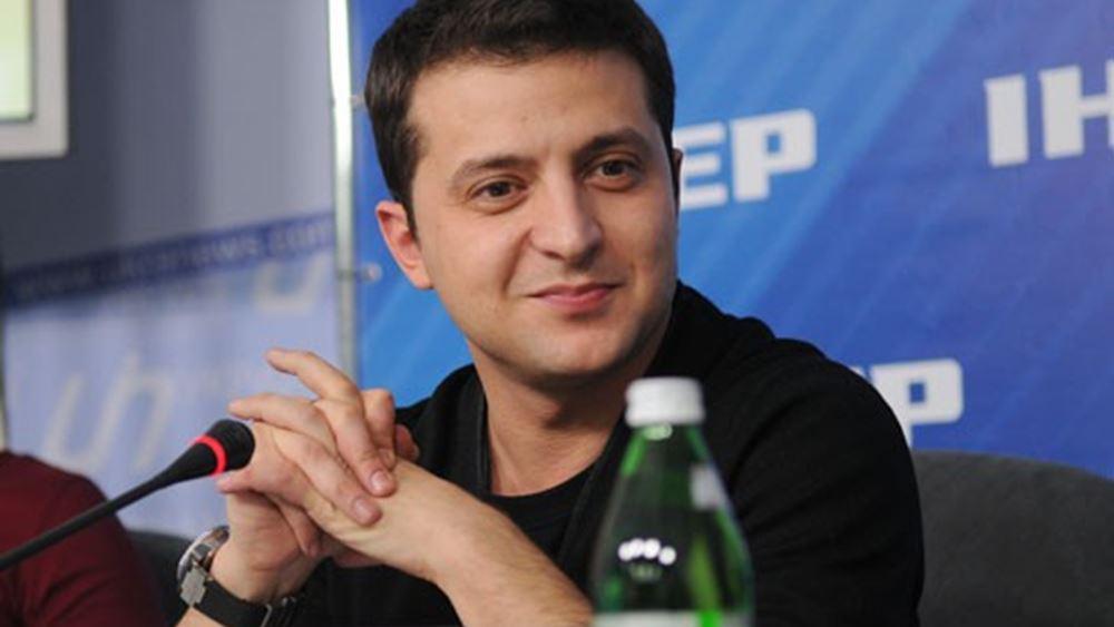 Ουκρανία: Εξελέγη πρόεδρος με 73% ο κωμικός Βολοντίμιρ Ζελένσκι