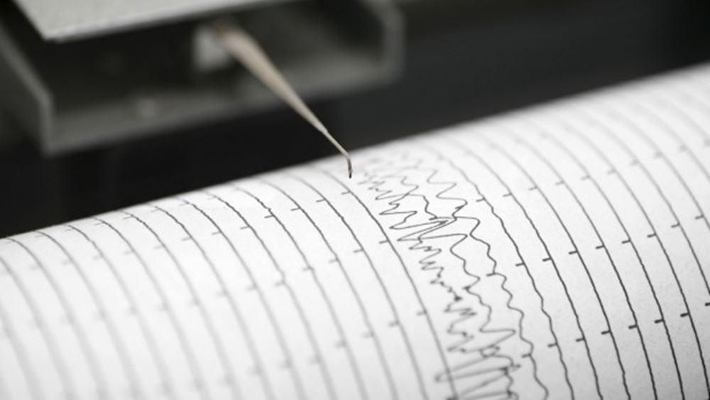 Σεισμική δόνηση 4,3 Ρίχτερ νοτιοδυτικά της Αμαλιάδας