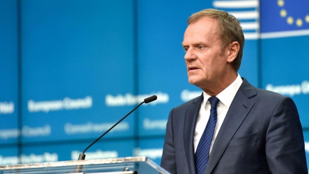 Tusk: Οι χώρες εκτός ΕΕ να συμμετάσχουν στις συνομιλίες για τη μεταρρύθμισή της