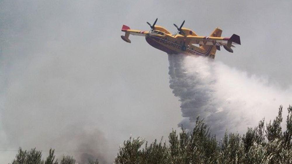 Αποστολή δύο πυροσβεστικών αεροσκαφών από την Ελλάδα στο Ισραήλ