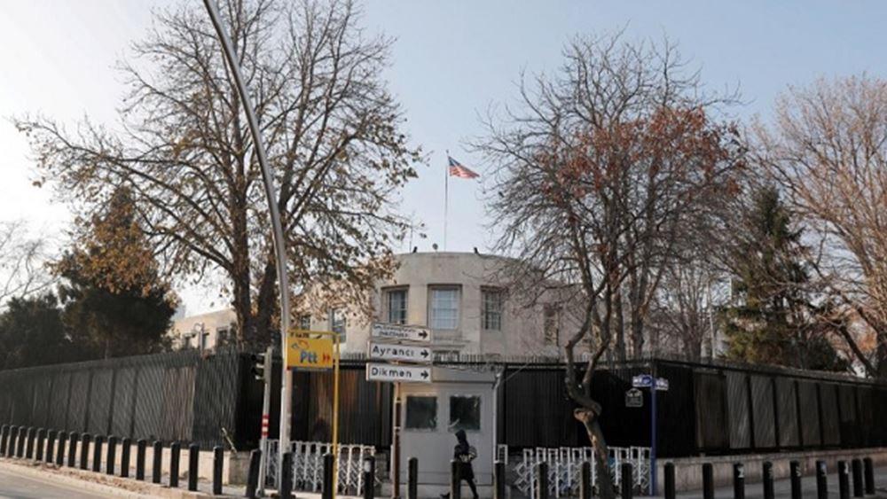 Προειδοποίηση από την πρεσβεία των ΗΠΑ στην Τουρκία για πιθανές τρομοκρατικές επιθέσεις