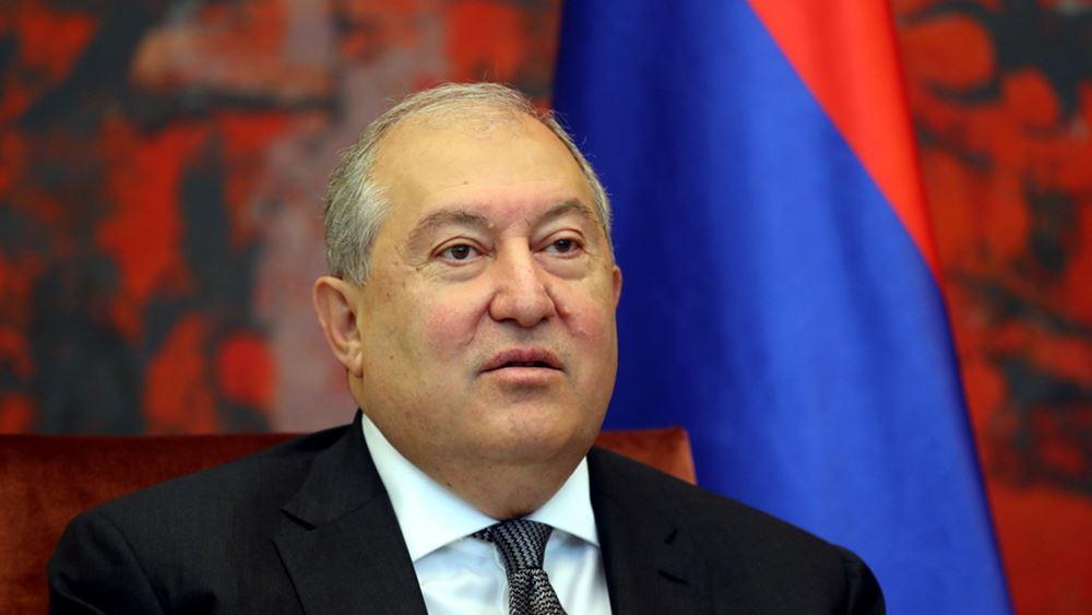 Ο Αρμένιος πρόεδρος θα έχει συνομιλίες για το Ναγκόρνο Καραμπάχ με αξιωματούχους της ΕΕ και του ΝΑΤΟ