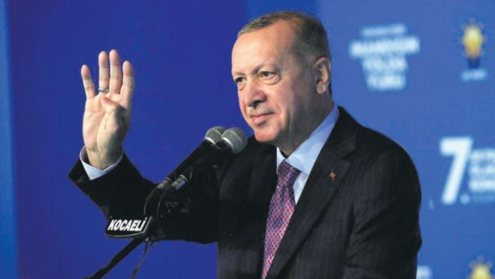 Επίθεση φιλίας Ερντογάν μετά τον πάγο Μπάιντεν στην Τουρκία