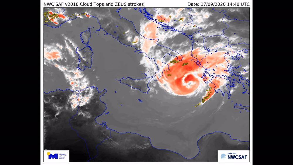 """Σε εξέλιξη ο μεσογειακός κυκλώνας """"Ιανός"""" - Ν. Χαρδαλιάς: Παραμένουμε σε επιφυλακή"""