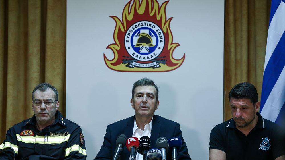 Χρυσοχοΐδης: Από τις 15 Ιουλίου εκδηλώθηκαν 1.302 πυρκαγιές