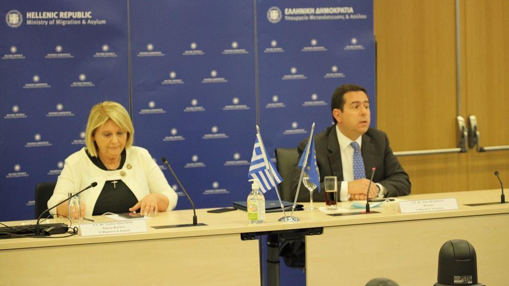 Ελλάδα και Βέλγιο συμφωνούν στην ανάγκη δίκαιης κατανομής του μεταναστευτικού βάρους στην ΕΕ