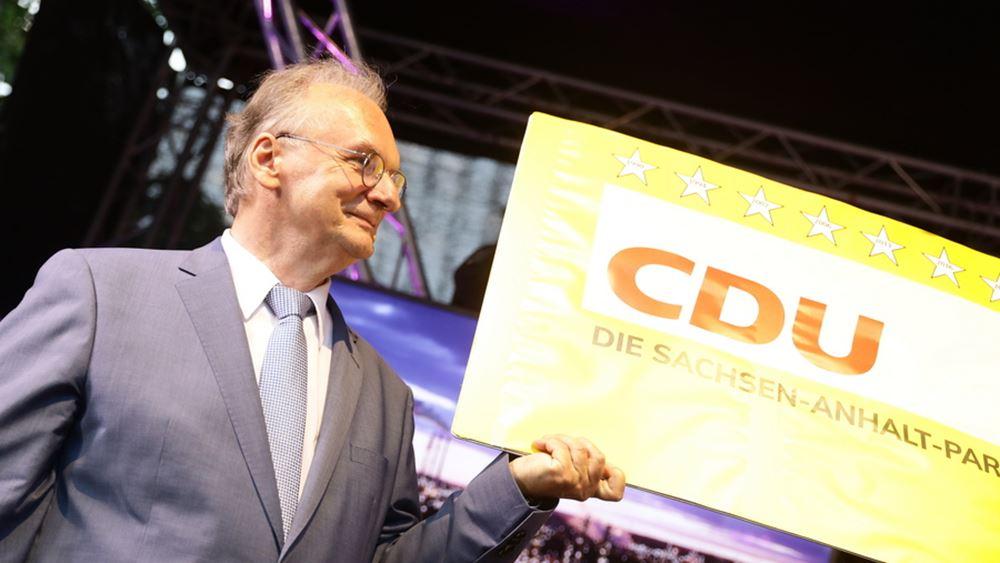 Γερμανία: Το CDU κερδίζει με διαφορά τις εκλογές στην Σαξονία - Άνχαλτ
