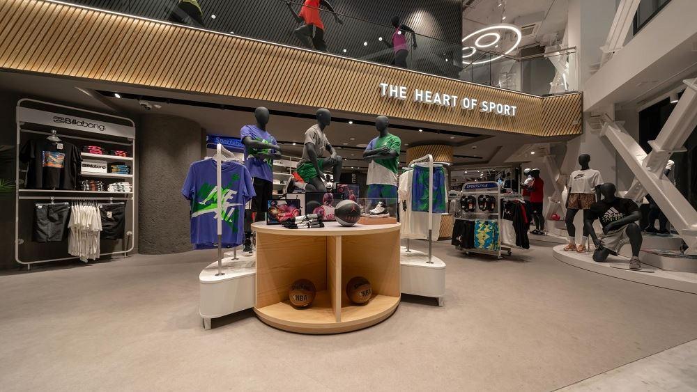 Τα σπορ συναντούν την τεχνολογία …στο νέο flagship κατάστημα INTERSPORT στο κέντρο της Αθήνας