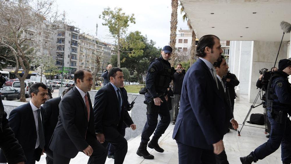 Τους 8 αξιωματικούς θυμήθηκε πάλι η Τουρκία
