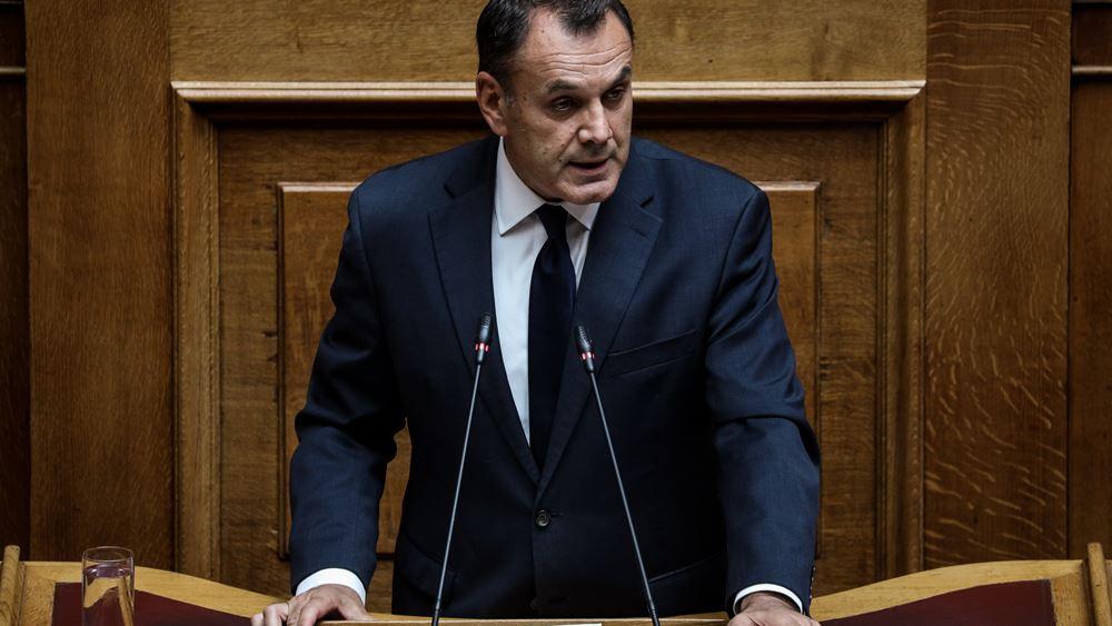 Ο Παναγιωτόπουλος ζήτησε βοήθεια από το ΝΑΤΟ για την αντιμετώπιση των προσφυγικών ροών