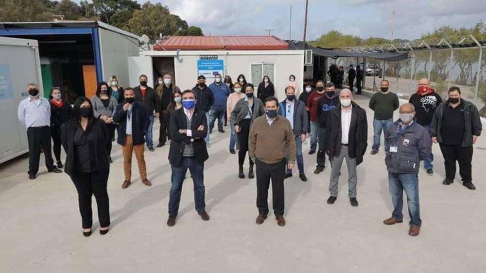 Στην Κω ο αντιπρόεδρος της Κομισιόν Μαργαρίτης Σχοινάς και ο υπ. Μετανάστευσης και Ασύλου Ν. Μηταράκης