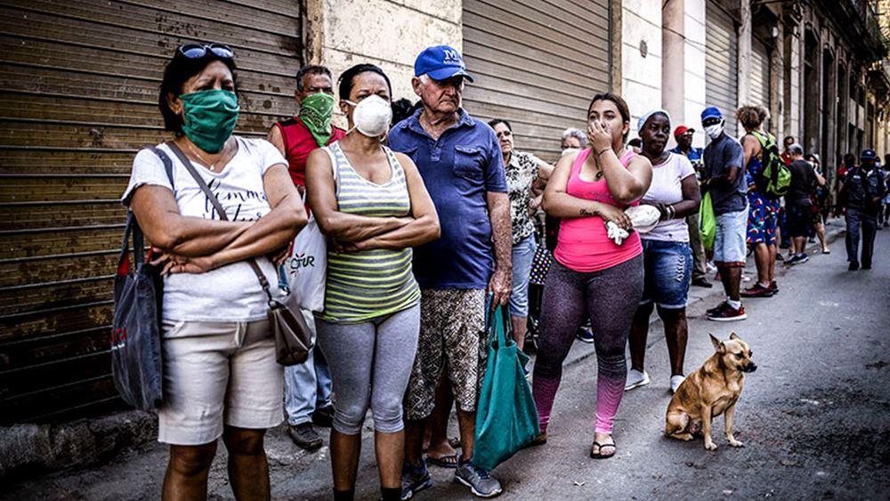 Κούβα: Νέο ημερήσιο ρεκόρ κρουσμάτων, σε μερική καραντίνα η Αβάνα
