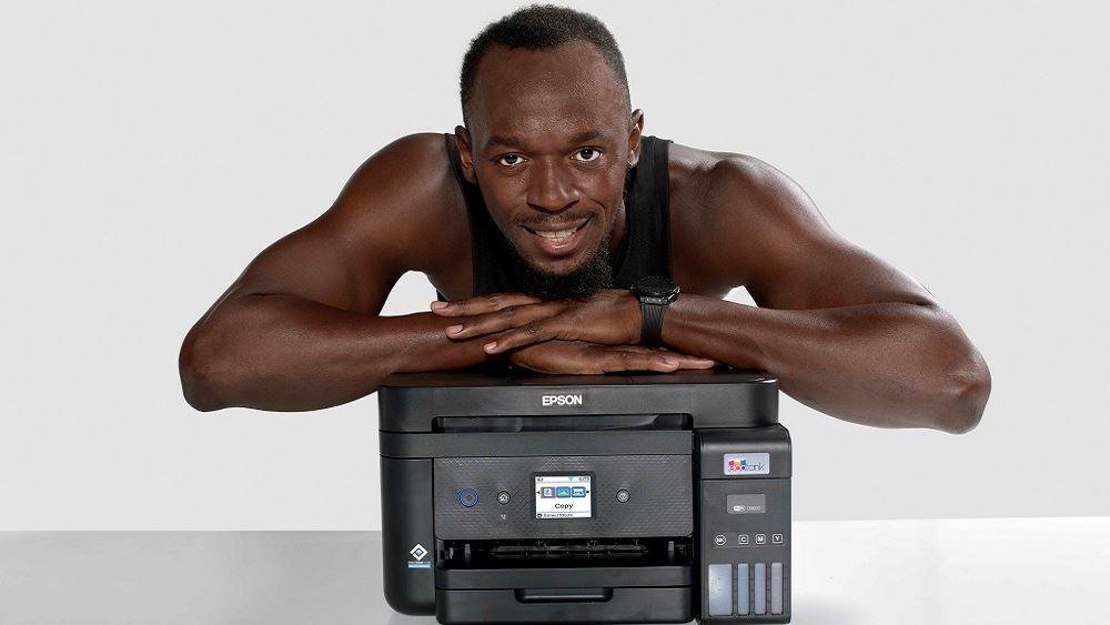 Epson και Usain Bolt συμπράττουν για την προώθηση της τεχνολογίας εκτύπωσης χωρίς φύσιγγες μελανιών στην Ευρώπη