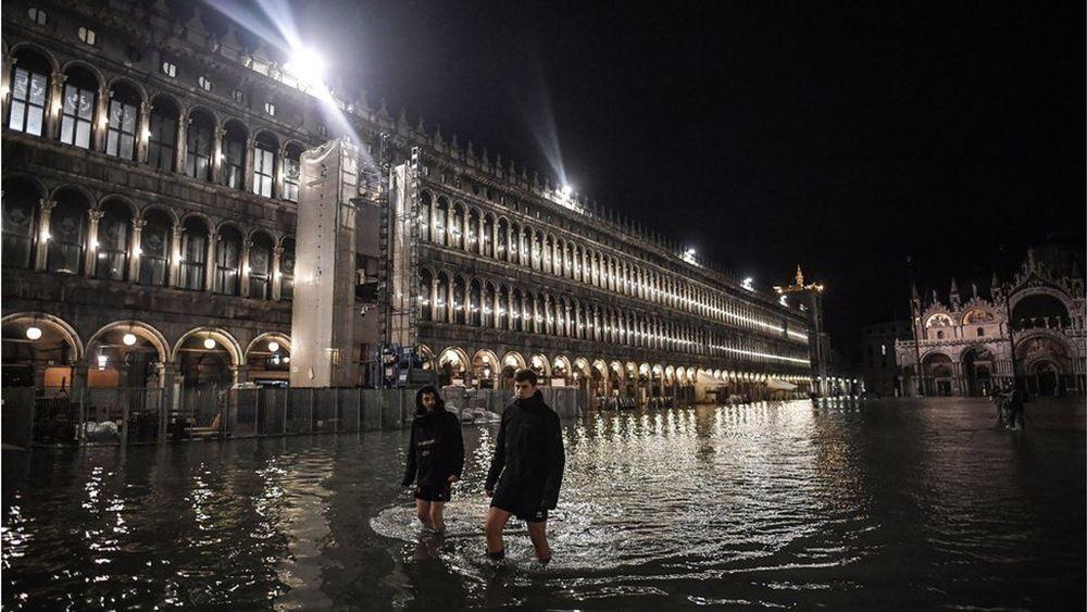 Βενετία: Σε κατάσταση καταστροφής κηρύχθηκε η πόλη λόγω πλημμυρών