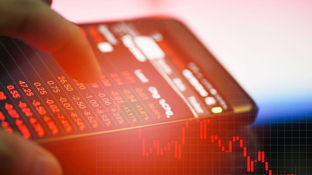 Διήμερο sell off στο Χρηματιστήριο με τον ΓΔ στο -6% και τις τράπεζες στο -12,1%