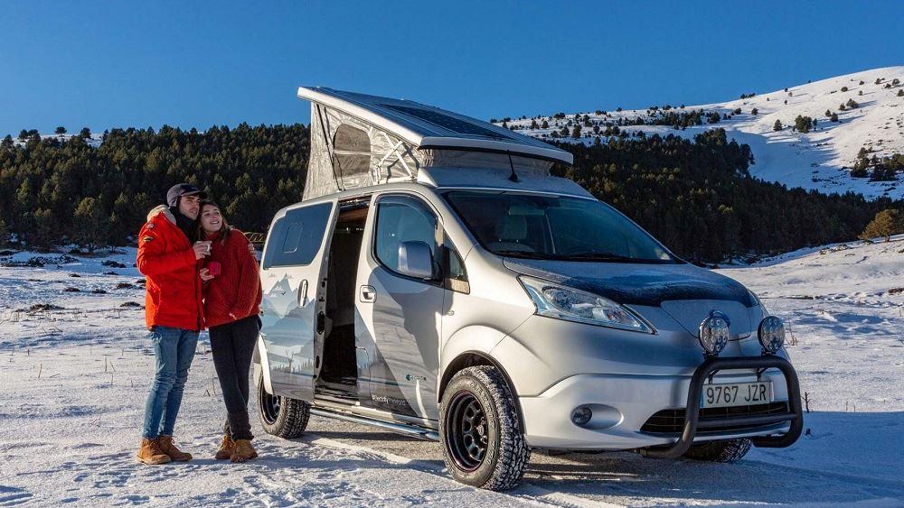 Χειμερινές περιπέτειες με το Nissan eNV200 Winter Camper