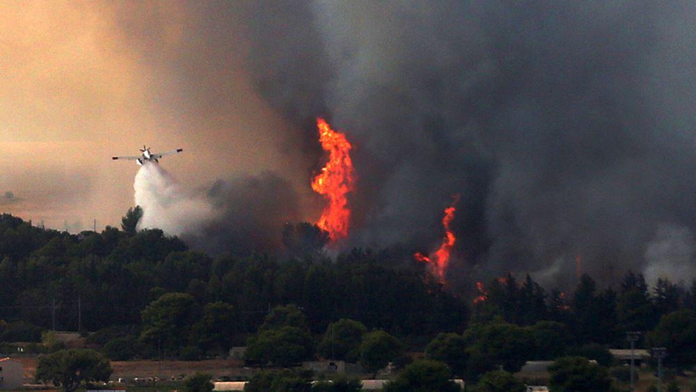 Αλληλεγγύη στην Ελλάδα για τις πυρκαγιές εξέφρασε στον Ν. Δένδια ο ΥΠΕΞ της Σαουδικής Αραβίας