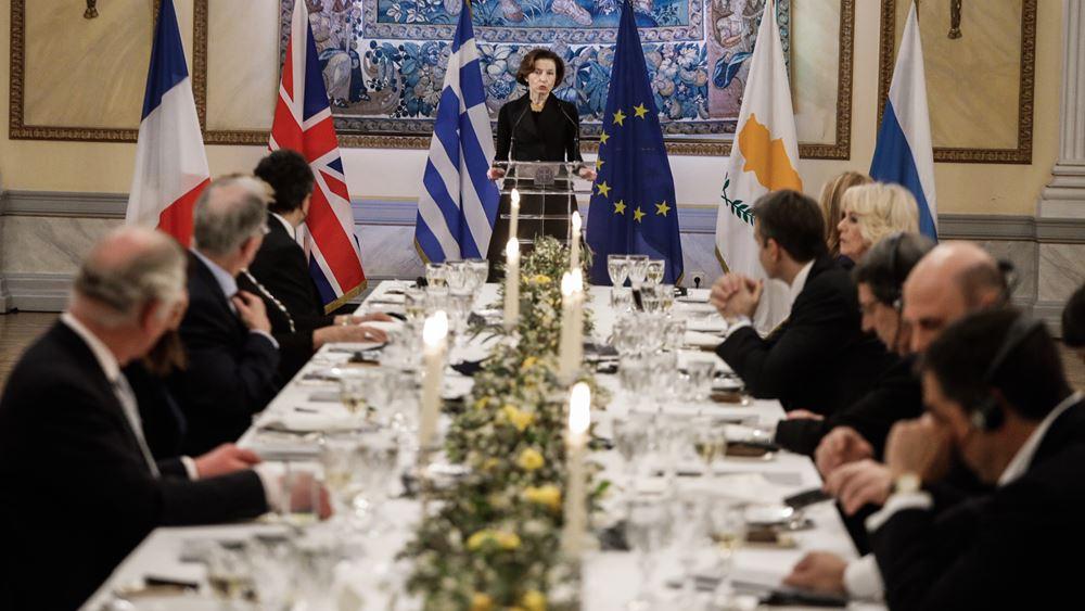 Υπουργός Άμυνας Γαλλίας: Στην Ελλάδα βρίσκονται όλα τα σημεία αναφοράς μας