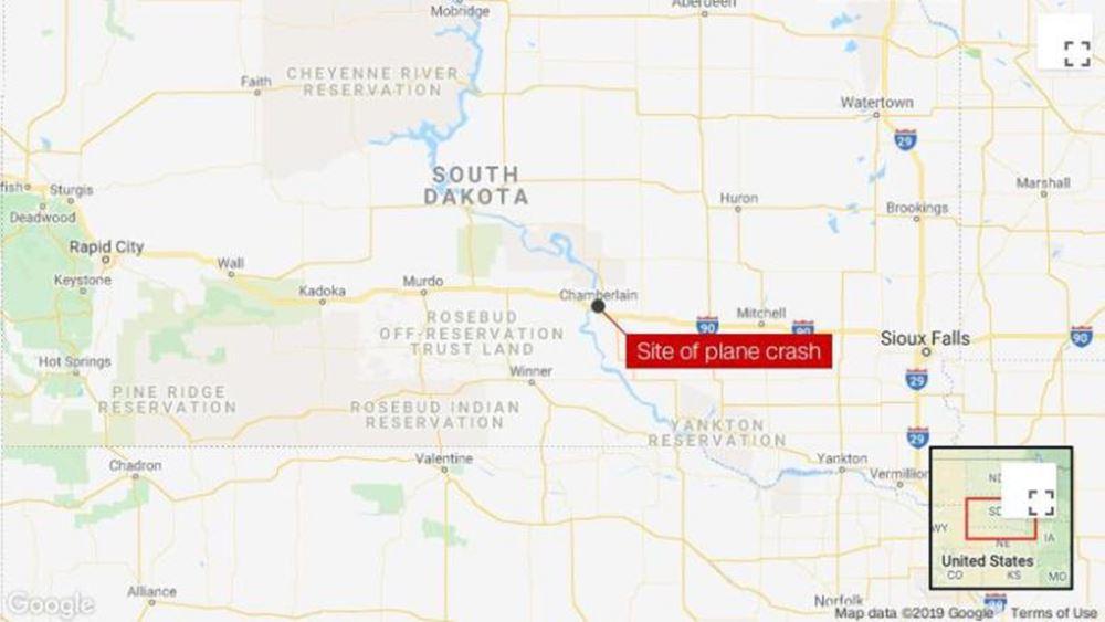 ΗΠΑ: Εννέα νεκροί από συντριβή μικρού αεροσκάφους στη Νότια Ντακότα