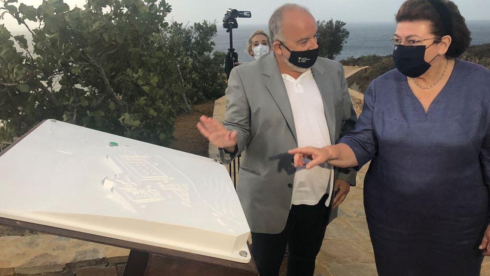 """Λ. Μενδώνη: Αυτοψία στα μνημεία της Σάμου που """"τραυματίστηκαν"""" από το σεισμό"""