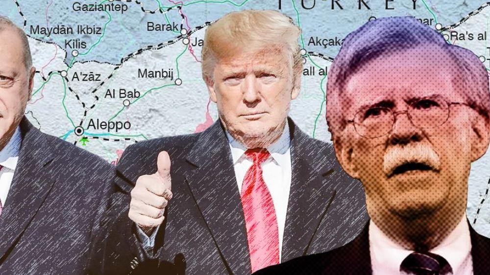 Αποκαλύψεις στο βιβλίο του Μπόλτον: Ο Τραμπ αγνοούσε Μακρόν, Πομπέο, Μνούτσιν για τον Ερντογάν