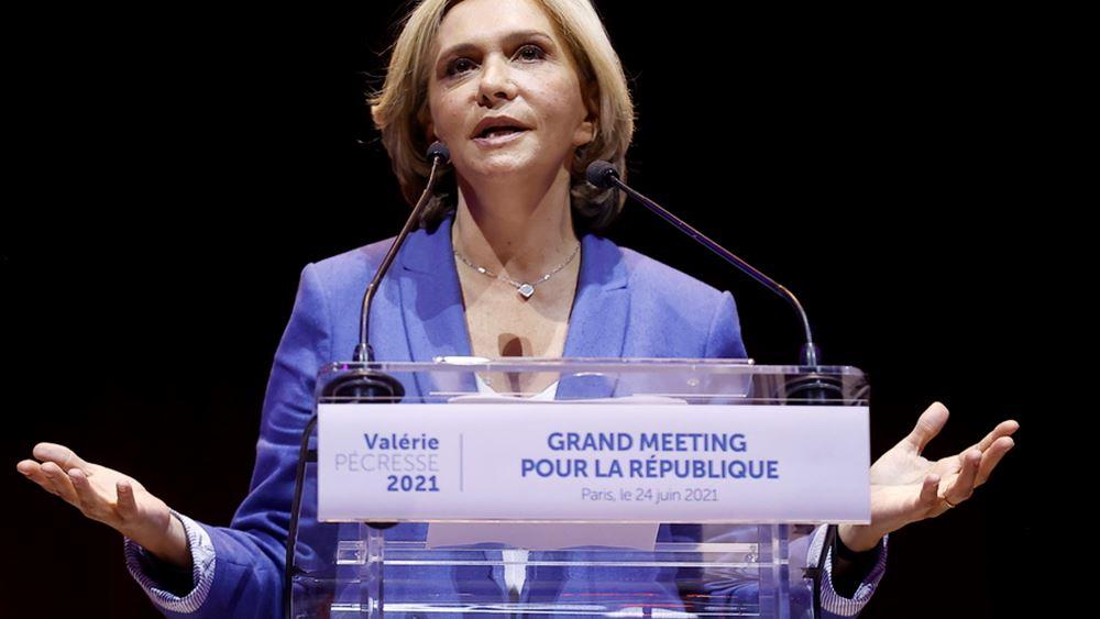 Γαλλία: Η πρώην υπουργός Βαλερί Πεκρές υποψήφια στις προεδρικές εκλογές