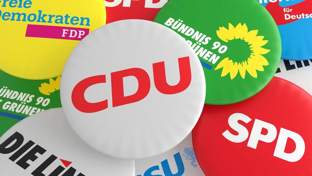 Ολοκληρώθηκαν οι συνομιλίες CDU/CSU - Πρασίνων
